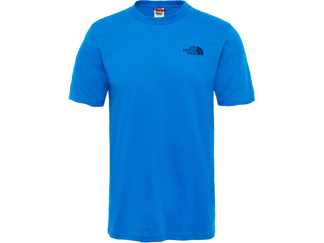 The North Face Simple Dome Camiseta Manga Corta Hombre, bomber blue